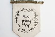 Make | Crafts and Decor / DIY ideas and Tutorials for crafts, parties, decoration and more. Could be anything really, but worth a try for sure!
