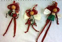 Ornaments diy / by Patty Gravel