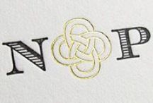 ITI PROJECTS   rebecca · wedding invitations / rebecca // wedding invitations  celtic knot, green, white and yellow, antique gold