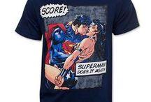 Superheroes / We love 'em superheroes.