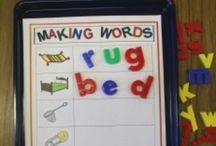 Literacy -- CVC & Word Building