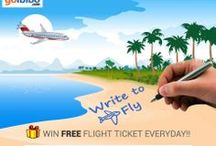 Write To Fly / Share your travel story with us & Win Free Flight Ticket everyday! https://www.goibibo.com/write-to-fly/