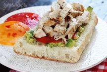 Recipes -- Sandwiches & Wraps