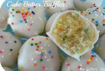 Desserts -- Cake Pops, Truffles, & Bark