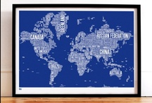 Print Collection / The fabulous print collection we have at SE10 Gallery. We carry a range of quality prints from Australian and British designers including the iconic Bold & Noble Type Maps.  http://www.se10gallery.com.au/collections/prints