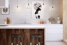 Home // Kitchen / Design, layout, accessories & inspiration for your dream kitchen #kitchen