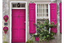Darling Doorways / Doorways intrigue me - always curious as to what you will find behind the next one!