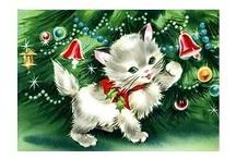 I Love Vintage Christmas Cards / by Carma Walsh