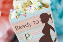 BABY SHOWER IDEAS / Gathering ideas for baby shower gifts, favors, food and other goodies!