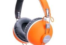 orange headphones / by DJ Chuang