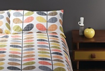 Gorgeous Bedrooms / Bedroom inspiration from SE10 Gallery featuring gorgeous Orla Kiely bed linen. http://www.se10gallery.com.au/collections/bed