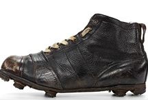 Vintage Football Boots / Selection of vintage football boots. Sourced by www.Footy-Boots.com