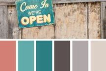 Color Schemes / by Jessica Wall