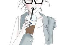 Inspire // Illustration / Great fashion illustrations