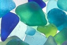 Jewels of the Sea / From seaglass to seashells...the beauty and bounty of the sea.