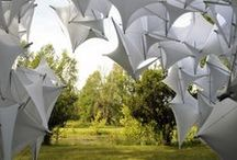 Exhibition : Building with textiles / Architecture and textiles, new materials, inside and outside