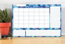 Cody Alice Calendar Home Organizers / Dry Erase Calendar Home Organizers available on Cody Alice. Buy on www.codyalice.com
