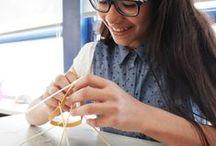 Maker movement / Leren door te maken, kennis van het maken verspreiden, dat doet het TextielMuseum!