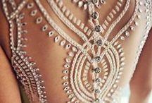 Wedding Dresses / Dresses and Veils for the Bride. Dresses for the Bridesmaids