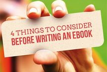 e-Bookin / She gon' write an e-Book.  (...but not with that kind of grammar.)