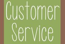 Customer Service / Advice on how to provide excellent service to your clients, customers and/or website members