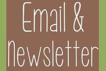 Email Marketing & Newsletters / Email marketing takes less time to create & send than any other marketing strategy so you can communicate with your customers more frequently. Newsletters are a great way to keep your audience informed and engaged.