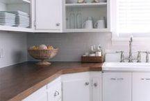 Countertops / DIY kitchen and bathroom vanity countertop tutorials