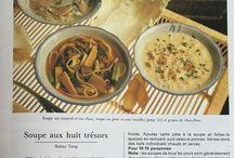 Cuisine : soupes