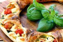 Cuisine : pizza et tartes salées