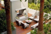 outside / garden and outdoor living inspiration / by alex t
