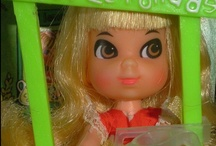 Liddle Kiddles / The cute tiny Barbie product from the late 60s.  Just adorable.