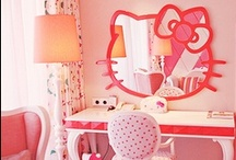 Kitty Hello! / Random and cool Hello Kitty items.  There will be an emphasis on pink.
