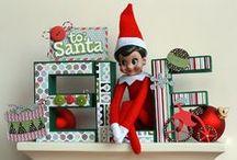 """""""Elfie"""" on the Shelf-ie / by Billie Poss"""