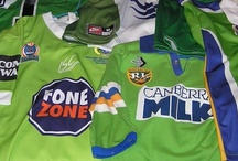 #WearGreen / Wear Green and show your support for the Canberra Raiders!