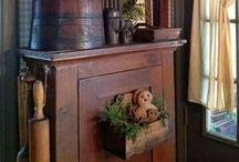 Primitive & Colonial Decorating / by Billie Poss