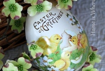 """""""Easter"""" My Egg / by Billie Poss"""