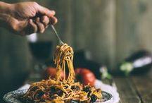 Pasta Party! / Les pâtes dans tout leurs états! / All pasta,  enjoy the perfect meal !  Des pâtes pour un repas équilibré, simple ou élaboré, végétarien ou carnivore.