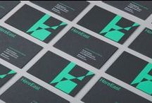 Business Card Design / A collection of business cards that demonstrate good design and considered formats and finishes.