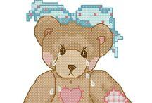 Teddybears Cross Stitch / by Vicky Kempenski