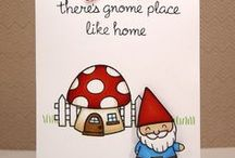 Gnomes / I love gnomes and I truly believe I was one of them in a past life