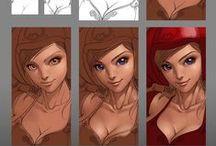 painting tutorial / digital painting tutorials