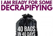 40 days 40 bags / by Melissa Johnson