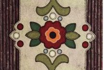 Applique and Beading Patterns / by Iri Schindler