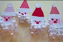 christmas * arts & crafts for kiddos / by Kathy Boenig