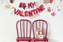 be my valentine * banners/garlands / by Kathy Boenig