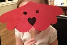 be my valentine * kids arts & crafts / by Kathy Boenig