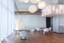 Office Cafe Designs / The cafe is the new hub of the office. A location for creativity, relationship building, and rejuvenation.