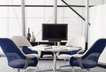 Collaborative Media Spaces / For optimal collaboration to take place, meeting spaces need technology that works seamlessly along with a comfortable space for employees to gather. Be inspired by these collaborative media spaces for the office.