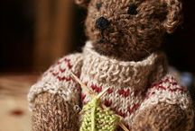 Knitted bears / Knitted teddy bears