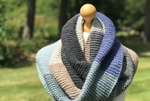 Knitting | Scarves and cowls / Scarf knitting patterns | For inspiration and completed projects of mine